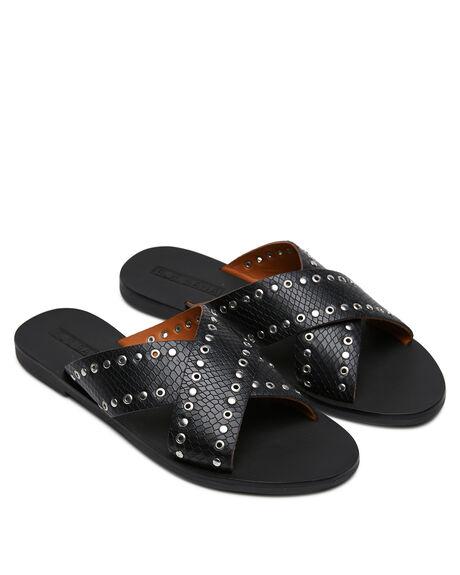 BLACK WOMENS FOOTWEAR SOL SANA FASHION SANDALS - SS201S250BLK