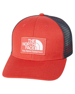 SUNBAKED RED MENS ACCESSORIES THE NORTH FACE HEADWEAR - NF0A3SHTPKB