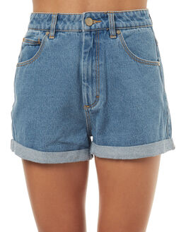 LA BLUES WOMENS CLOTHING A.BRAND SHORTS - 70159-396LAB