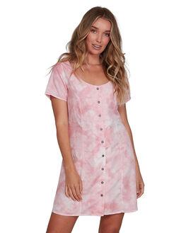 PLUM BERRY WOMENS CLOTHING RVCA DRESSES - RV-R207766-PBY