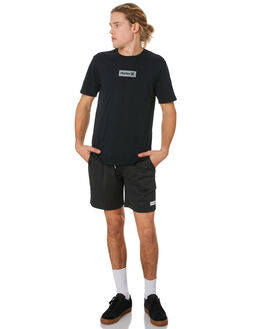 BLACK MENS CLOTHING HURLEY SHORTS - BV1546010