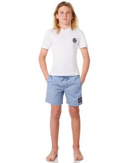 PALE BLUE KIDS BOYS SANTA CRUZ SHORTS - SC-YBNC262PBLU