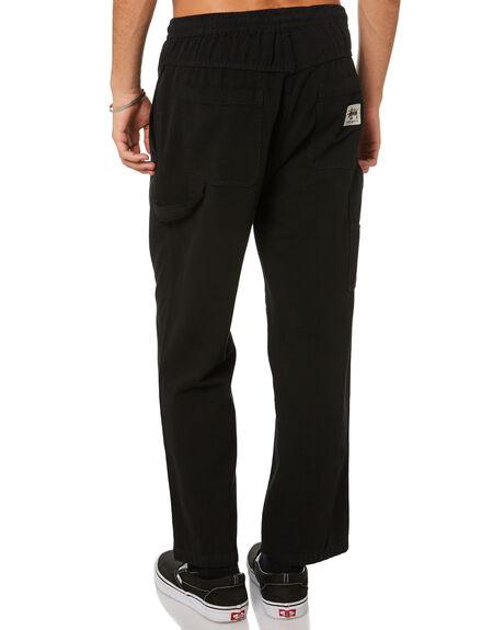 BLACK MENS CLOTHING STUSSY PANTS - ST005602BLK