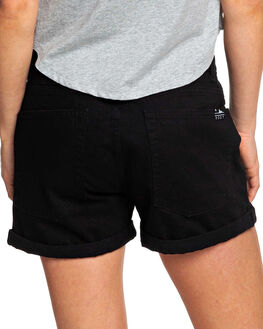 ANTHRACITE WOMENS CLOTHING ROXY SHORTS - ERJDS03210-KVJ0