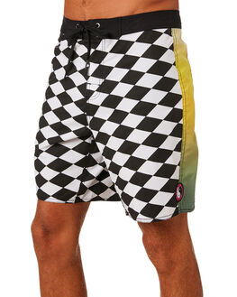 MULTI MENS CLOTHING TOWN AND COUNTRY BOARDSHORTS - TBO112MUL