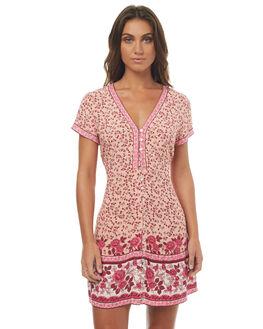 PINK WOMENS CLOTHING ARNHEM DRESSES - ARNDAHMINROSE
