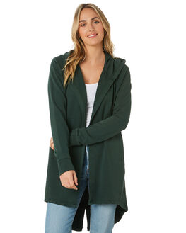 BOTTLE GREEN WOMENS CLOTHING SILENT THEORY JUMPERS - 6092038BGN