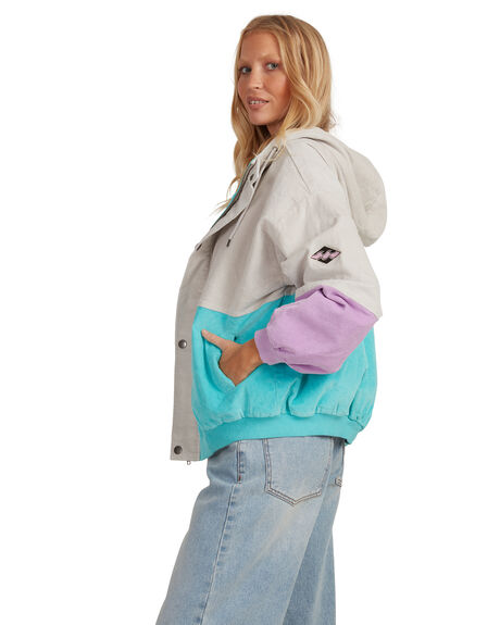 MULTI WOMENS CLOTHING BILLABONG JACKETS - 6518273-MUL