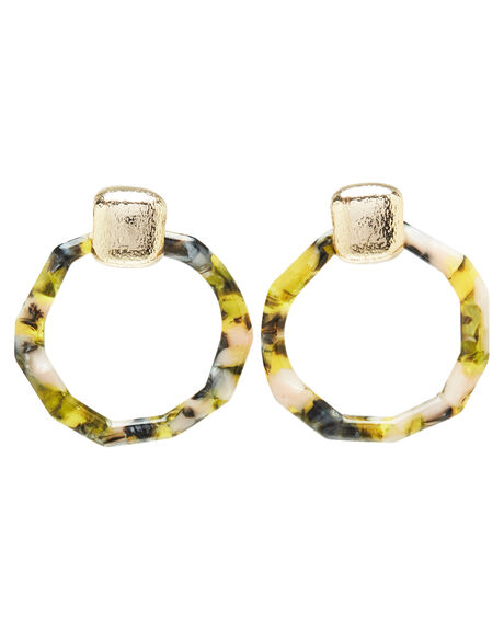 YELLOW TORT WOMENS ACCESSORIES TIGERLILY JEWELLERY - T392942YEL
