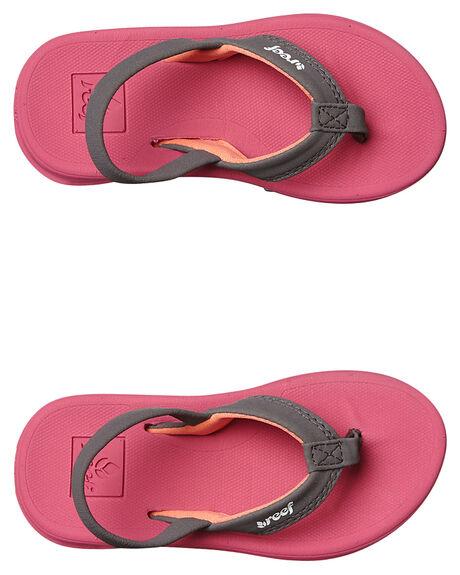 HOT PINK KIDS TODDLER GIRLS REEF FOOTWEAR - 5016HPK