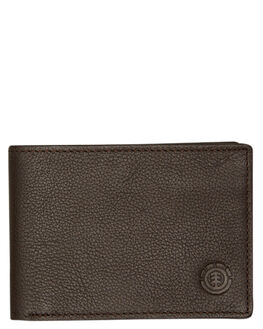 CHOCOLATE MENS ACCESSORIES ELEMENT WALLETS - 173573BCHOC