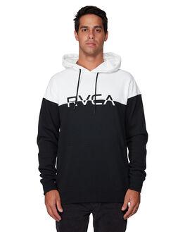 BLACK/WHITE MENS CLOTHING RVCA JUMPERS - RV-R307155-BKW