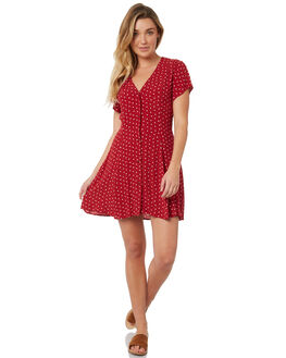 ROUGE DANDELION WOMENS CLOTHING ROLLAS DRESSES - 127304008