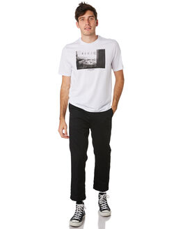 BRIGHT WHITE MENS CLOTHING HERSCHEL SUPPLY CO TEES - 50027-00458BRWHT