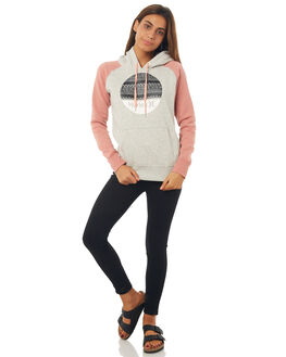 GREY HEATHER WOMENS CLOTHING HURLEY JUMPERS - AGFLK1805A