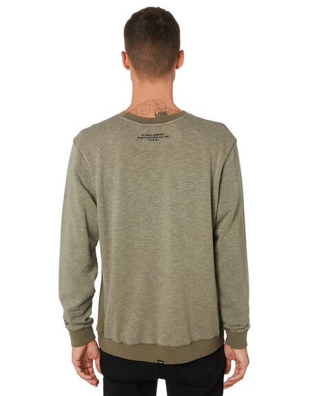 JUNGLE ARMY MENS CLOTHING THRILLS JUMPERS - TH9-215FJNARM