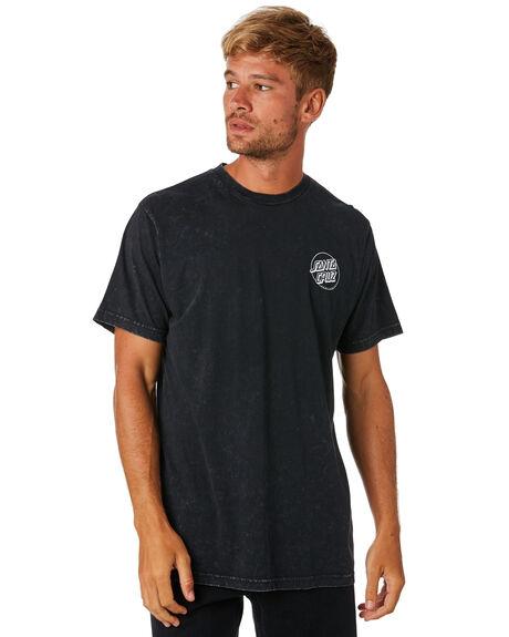 ACID BLACK MENS CLOTHING SANTA CRUZ TEES - SC-MTA9099ACDBK