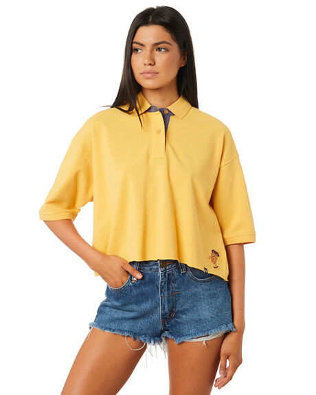 GOLDEN WOMENS CLOTHING ELEMENT FASHION TOPS - 284101GLE