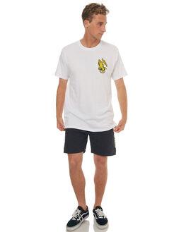 WHITE MENS CLOTHING SANTA CRUZ TEES - SC-MTD7651WHT