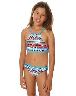 RED KIDS GIRLS RIP CURL SWIMWEAR - JSICE10040