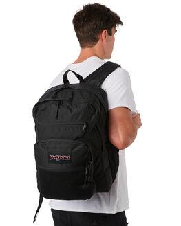 BLACK MENS ACCESSORIES JANSPORT BAGS + BACKPACKS - JS0A47K8-JS008