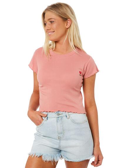 MELON WOMENS CLOTHING RVCA TEES - R282043MEL