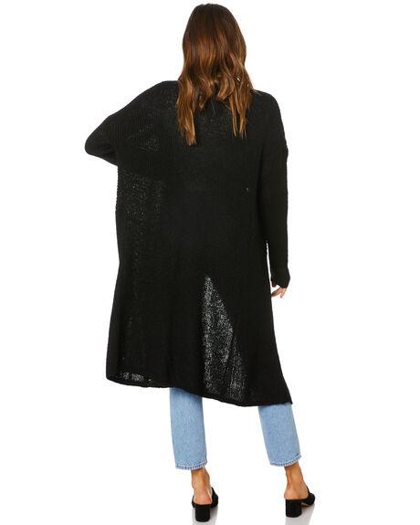 BLACK WOMENS CLOTHING BETTY BASICS KNITS + CARDIGANS - BB438W20BLK
