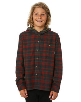 RED KIDS BOYS BILLABONG TOPS - 8595211RED