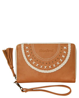 TAN WOMENS ACCESSORIES RIP CURL PURSES + WALLETS - LWLDU11046
