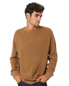 TOBACCO MENS CLOTHING SWELL KNITS + CARDIGANS - S5184147TOBAC