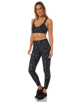 BLACK WHITE WOMENS CLOTHING THE UPSIDE ACTIVEWEAR - UPSW418042BLKWH