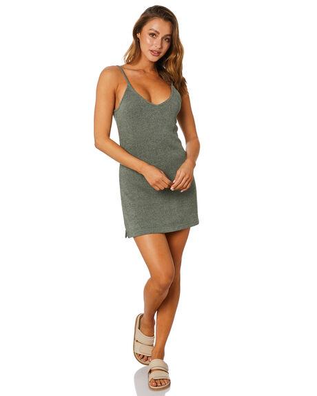 DARK SLATE WOMENS CLOTHING RUSTY DRESSES - DRL1074-DAK