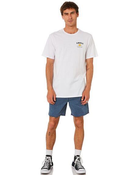 WHITE MENS CLOTHING SWELL TEES - S5202019WHITE