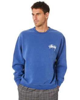 NEW NAVY MENS CLOTHING STUSSY JUMPERS - ST007209NWNVY