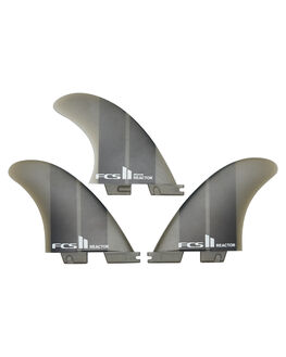 CHARCOAL GRADIENT BOARDSPORTS SURF FCS FINS - FREA-NG03-MD-TS-R
