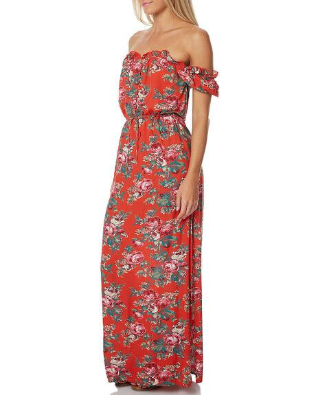 VNT HEART RED WOMENS CLOTHING AUGUSTE DRESSES - AUG-HN2-17150-VHR