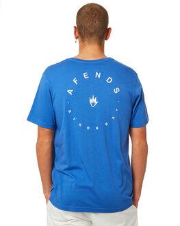 ROYAL BLUE MENS CLOTHING AFENDS TEES - M184008RYBLU