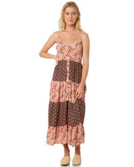 BLUSH WOMENS CLOTHING BAND OF GYPSIES DRESSES - WR335070-2769LPINK