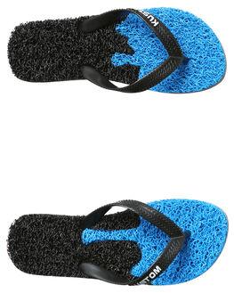 BLUE BLACK KIDS BOYS KUSTOM THONGS - 4877212ABLU