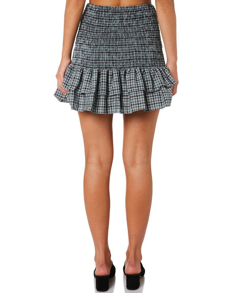 BUCKINGHAM CHECK OUTLET WOMENS MLM LABEL SKIRTS - MLM512BBUC