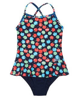 MULTI NAVY KIDS TODDLER GIRLS ZOGGS SWIMWEAR - 5097173MLNVY