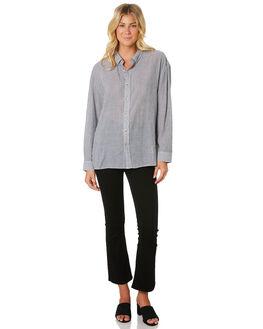 BLACK WHITE WOMENS CLOTHING ROLLAS FASHION TOPS - 13030-1429