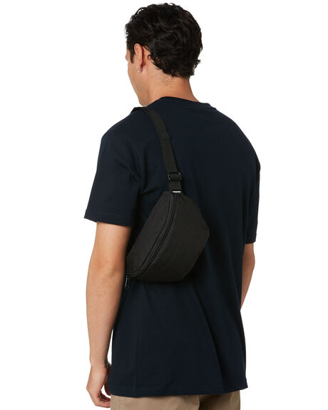 BLACK MENS ACCESSORIES AS COLOUR BAGS + BACKPACKS - 1014BLK