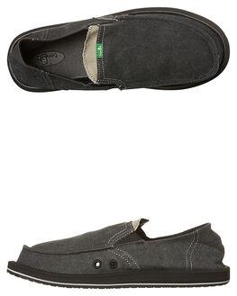 CHARCOAL MENS FOOTWEAR SANUK SLIP ONS - SMF1032CHR