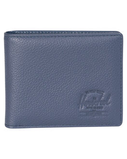 NAVY PEBBLED MENS ACCESSORIES HERSCHEL SUPPLY CO WALLETS - 10368-00776-OSNVY