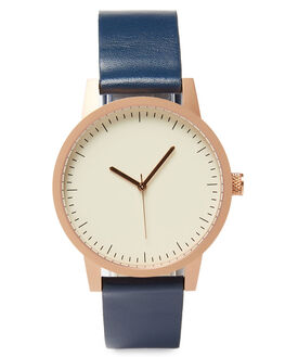 GOLD NAVY MENS ACCESSORIES SIMPLE WATCH CO WATCHES - SW01-28GLDNV