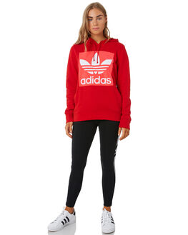 SCARLET RED WOMENS CLOTHING ADIDAS ACTIVEWEAR - EH4190SCAR