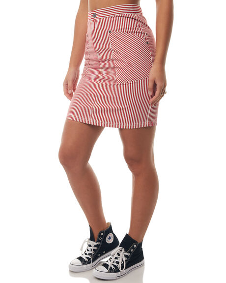 WHITE SPICE WOMENS CLOTHING AFENDS SKIRTS - W181900WHTSP