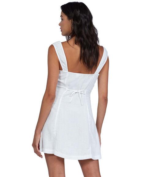 SNOW WHITE WOMENS CLOTHING ROXY DRESSES - ARJWD03364-WBK0
