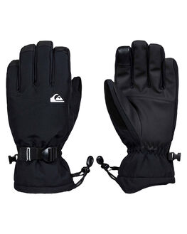 BLACK BOARDSPORTS SNOW QUIKSILVER GLOVES - EQYHN03125-KVJ0